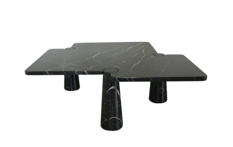 Angelo Mangiarotti Important Coffee Table, ca. 1970, offered by The Gallery