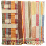 Indian handwoven throws, 2010