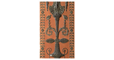 Percier & Fontaine decorative wood paneling, 19th century