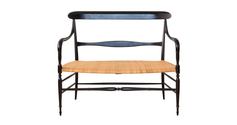 Chiavari bench, 1950s, offered by the Apartment