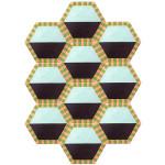 Kinder GROUND Extended Honeycomb rug, 2015