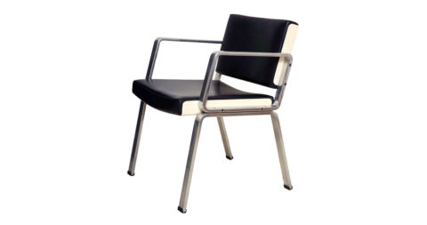 Alain Richard desk chair, 1972, offered by Demisch Danant
