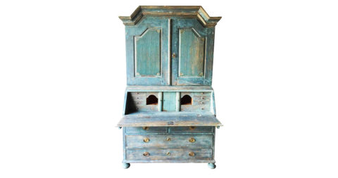 Gustavian secretaire cabinet, 1900s, offered by Alexandra