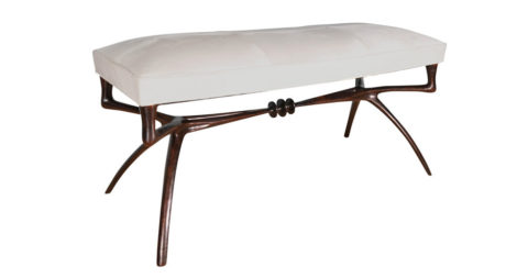 Alexandre Logé Atlante bench, 2009, offered by Donzella