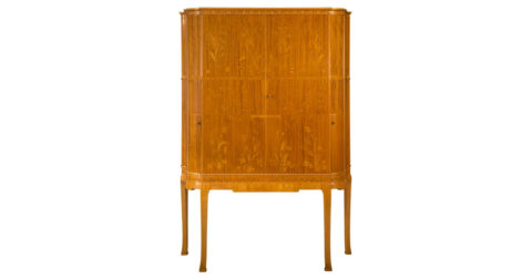 Carl Malmsten cabinet, ca. 1935, offered by H.M. Luther
