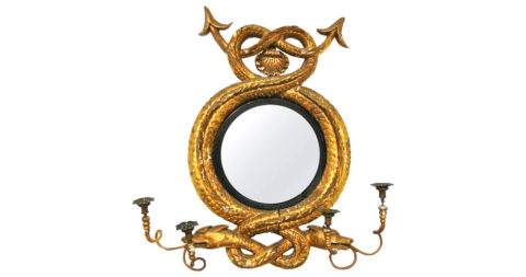 English Regency mirror, 1805, offered by Alexander Westerhoff Antiques