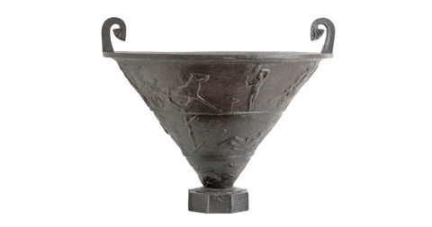 Rolf Bolin sporting urn, ca. 1920, offered by Hostler Burrows