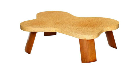 Paul Frankl Amorphic cocktail table, ca. 1951, offered by Donzella