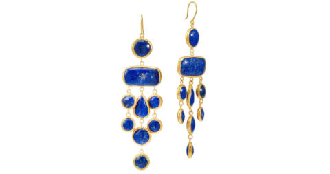 Pippa Small Chinar earrings, 2015, offered by Pippa Small