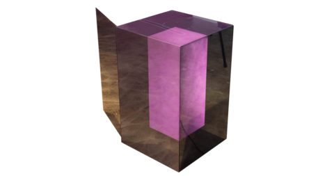 Glas Italia side table, 2015, offered by Internum Online Studio