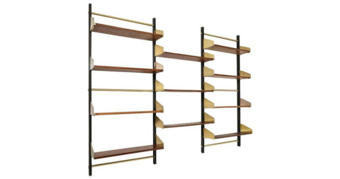 Feal bookcase, 1956, offered by Compasso