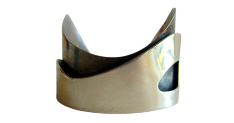 Ed Wiener Sterling-Silver Bracelet, offered by Lisa Cliff Collection