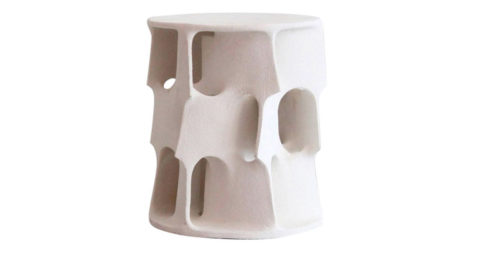 Illuminated Ceramic Side Table by Guy Bareff, offered by Orange