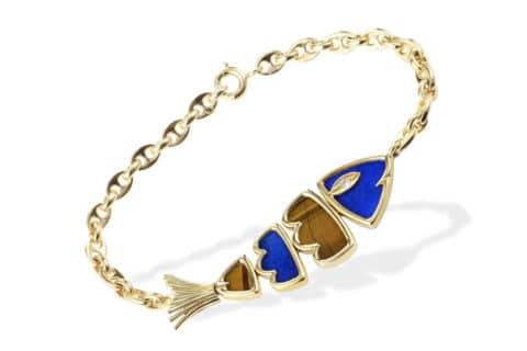 Van Cleef & Arpels fish bracelet, late 20th century, offered by Luxury Bazaar