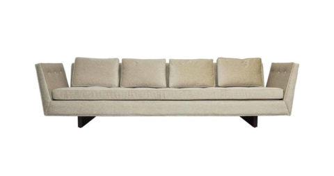 Edward Wormley sofa, 1950, offered by Modern Drama