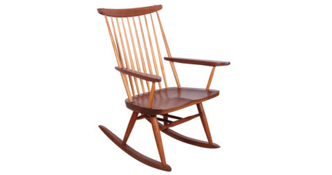 George Nakashima rocker, ca. 1970, offered by 1950
