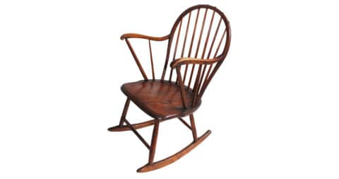Windsor rocking chair, 1760-80, East Meets West Antiques