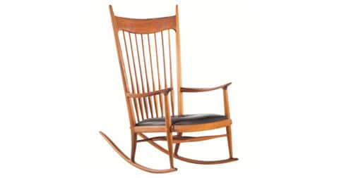Sam Maloof rocker, 1965, offered by Adam Edelsberg