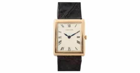 Cartier tank watch, ca. 1960, offered by Foundwell
