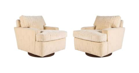 William Haines Seniah chairs, ca. 1966, offered by Dragonette