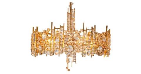 Palwa chandelier, ca. 1969, offered by Decorum