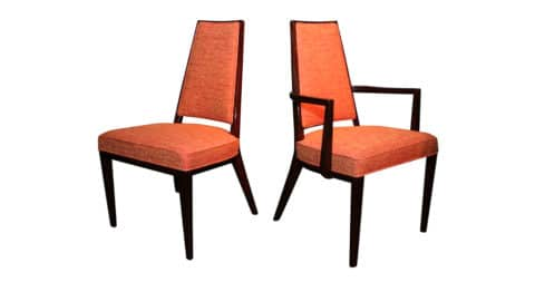 Monteverdi-Young dining chairs, ca. 1962, offered by Donzella