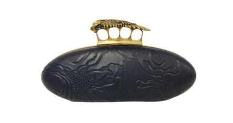 Alexander McQueen Hell Knuckle Duster box clutch, 21st century, offered by Classic Collections