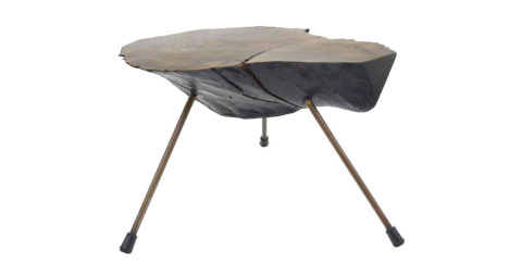 Carl Auböck tree-trunk table, 1950s, offered by Vintagerie