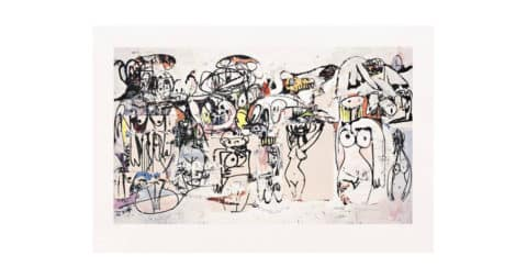 <i>Invocation of Miles</i>, 2000, by George Condo