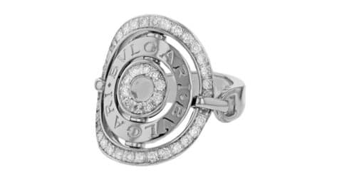 Bulgari Astrale diamond ring, 2000s, offered by Opulent Jewelers