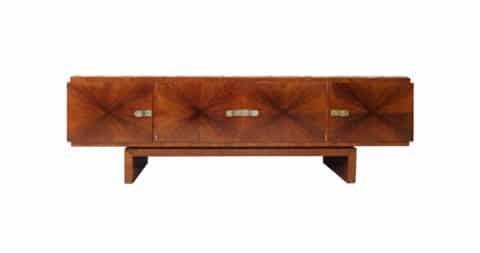 Caucasian Walnut Sideboard by Bruno Paul, offered by Berlin Deko