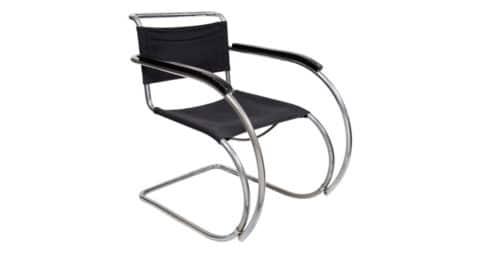 Ludwig Mis van der Rohe Mr 20 Cantilever Chair Design Weißenhof, 1927, offered by Kunsthandel Kolhammer