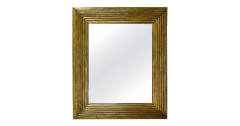 Spanish gilt-framed mirror, 19th century, offered by Balsamo