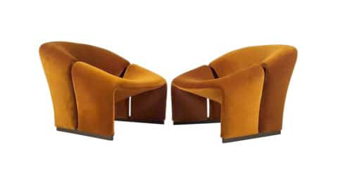 Pierre Paulin lounge chairs, ca. 1968, offered by 20c Design