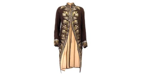 French waistcoat, 18th century, offered by the Way We Wore