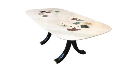 Osvaldo Borsani table, 1950s, offered by Raphaël Dierick