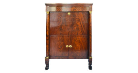 Secretary in the manner of Duncan Phyfe's workshop, 1815, offered by Christopher Todd