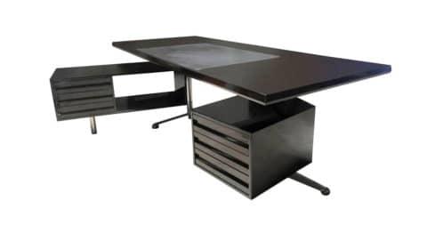 Osvaldo Borsani for Tecno executive desk, 1950s, offered by Merit