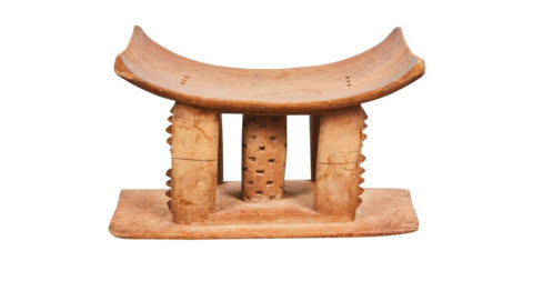 Ashanti stool, early 20th century, offered by Sumner