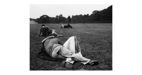<i>Sunday Evening, the Kissing Point,</i> 1936, by Bill Brandt, offered by Peter Fetterman Gallery