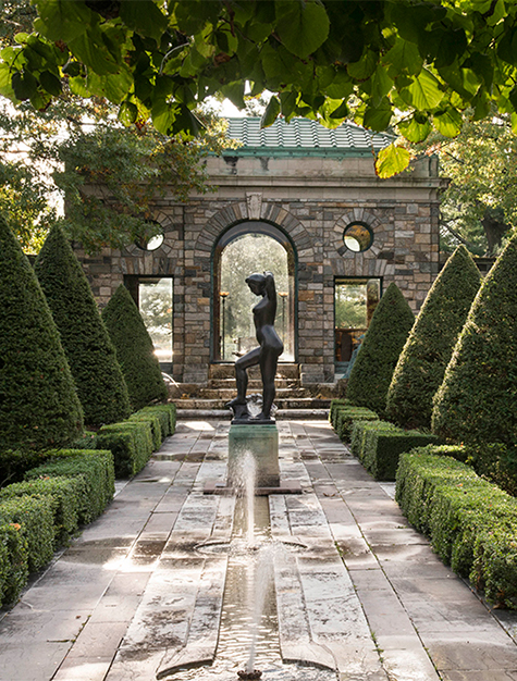 An Intimate Look at the Rockefeller Dynasty's Luscious Gardens