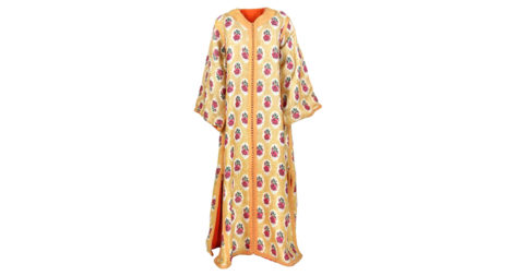 Artisanal wedding caftan, 1970s, offered by Angelo Palace