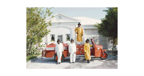 <i>Lyford Cay Fire Service Bahamas</i>, 1966, by Slim Aarons, offered by Galerie Prints