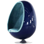 Thor Larsen Ovalia egg chair, 1968