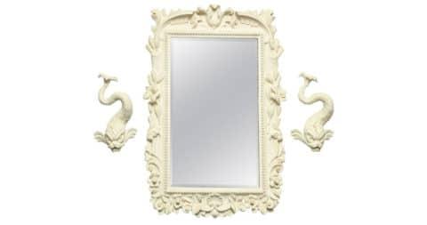 Frances Elkins mirror, 1940, offered by Liz O'Brien