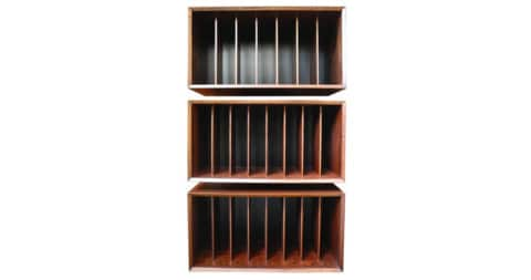 Poul Cadovious for Cado rosewood system wall unit, 1960s, offered by Corinne Robbins