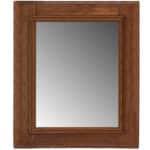 Italian-style walnut mirror, 2017
