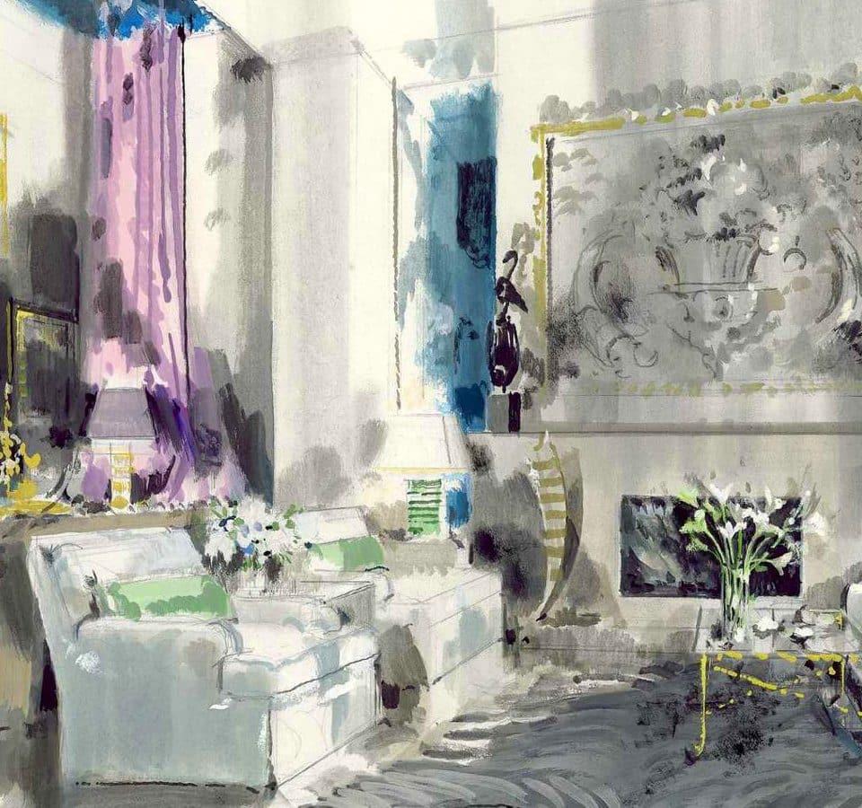 A Tribute to Impressionistic Interiors Illustrator Jeremiah Goodman