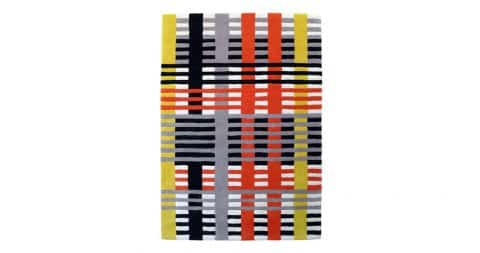 Study rug, designed in 1926, produced in 2014, offered by Artware Editions