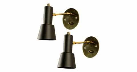 Italian sconces, 1950s, offered by Rewire